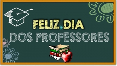 Feliz dia do Professor!